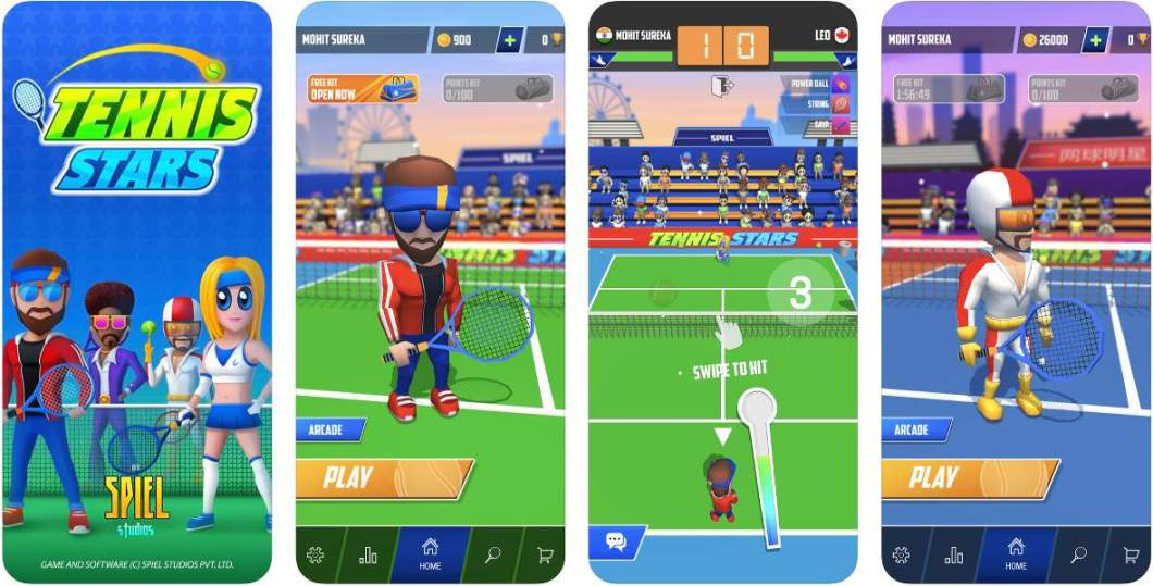 Juego de tenis para iPhone