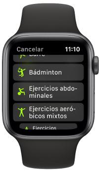 Apple Watch para entrenar en casa 1