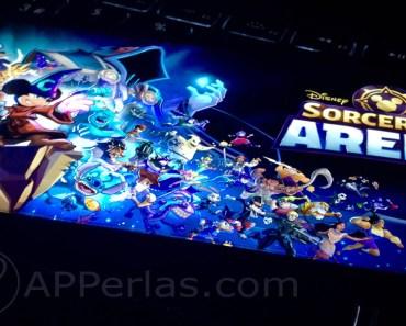 Personajes de Disney y Pixar se enfrentan en Disney Sorcerer's Arena