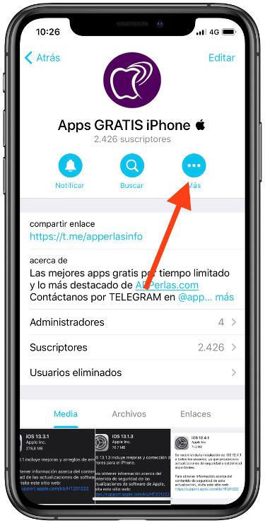 estadísticas de tu canal de Telegram 1
