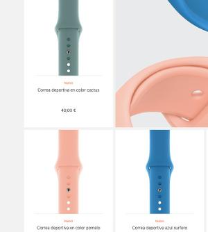 las nuevas correas para el Apple Watch 1