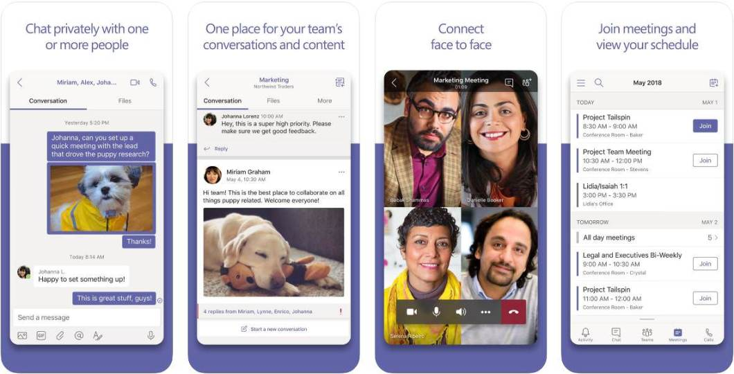 App Microsoft Teams