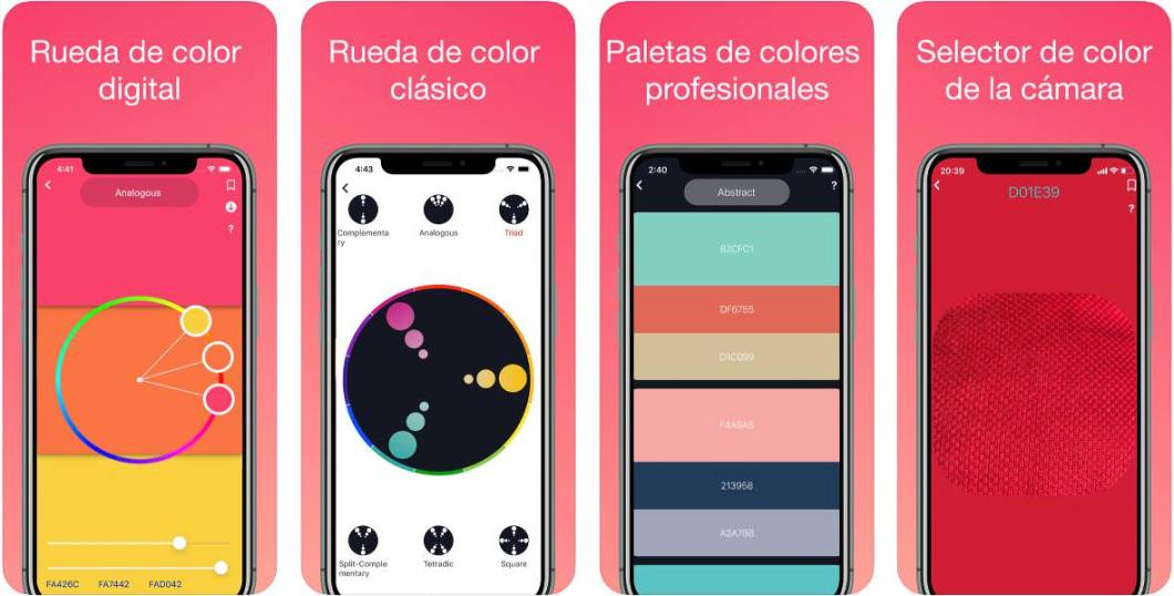 App de colores para iPhone