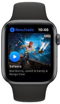 escuchar música en el Apple Watch 1