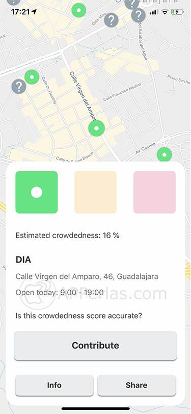 app evitar aglomeraciones crowdless 4