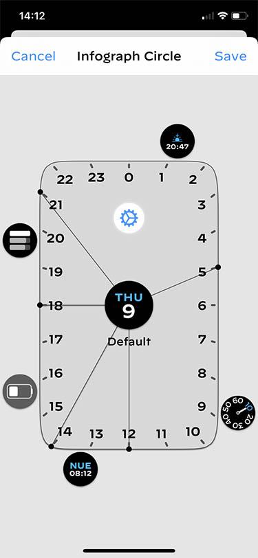 personalizar las esferas del Apple Watch watchsmith 2