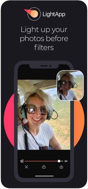 App de fotografía para iPhone