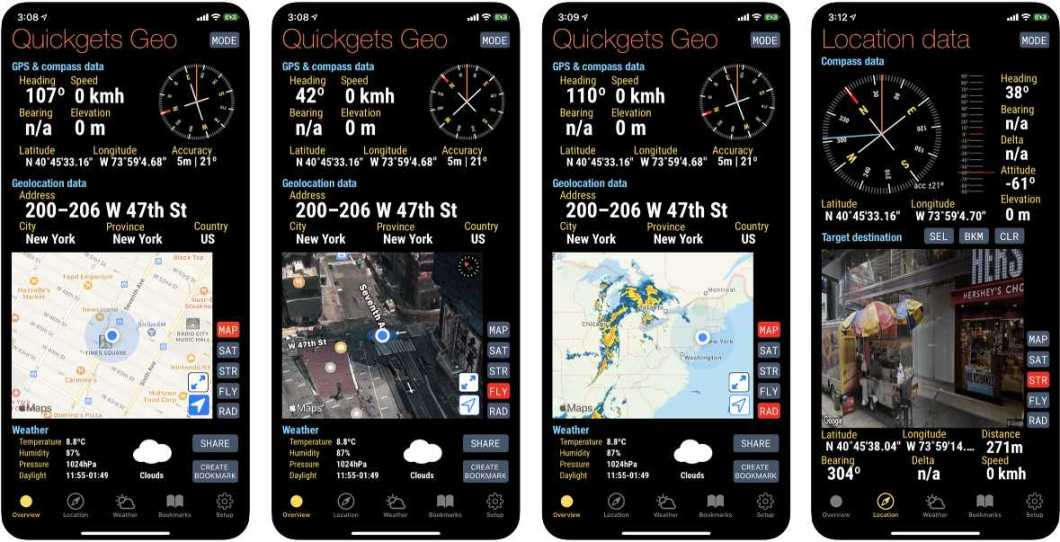App de navegación para iOS