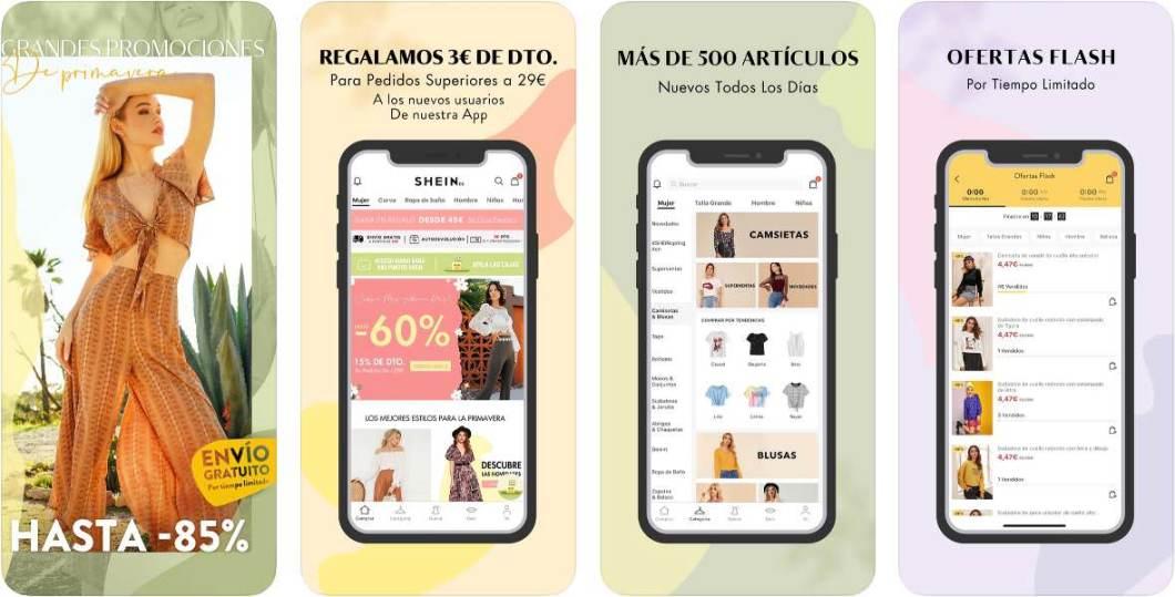 App de moda para iPhone