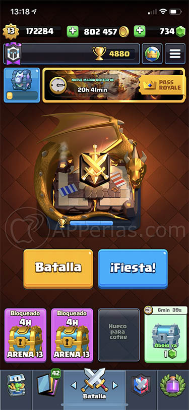 temporada 11 de clash royale dragones 3