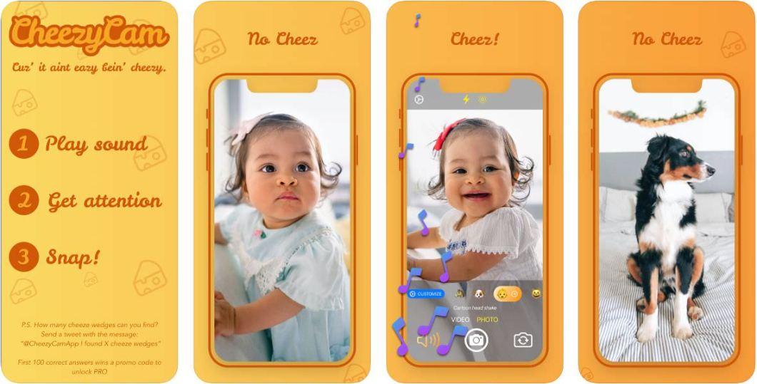 App para fotografiar a niños y mascotas