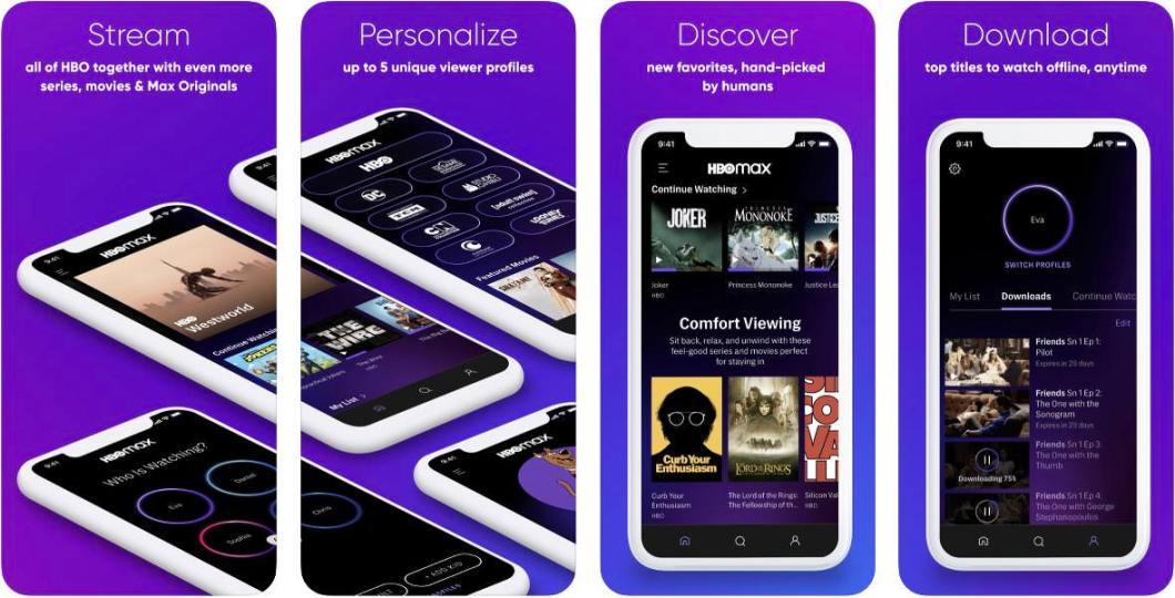 HBO MAX para iOS