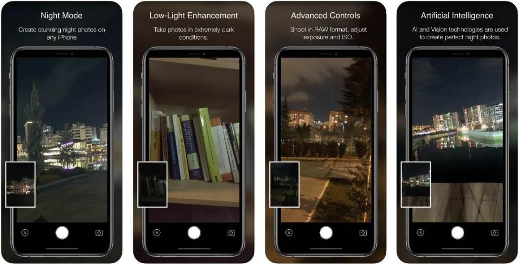 Haz buenas fotos en la oscuridad con esta app