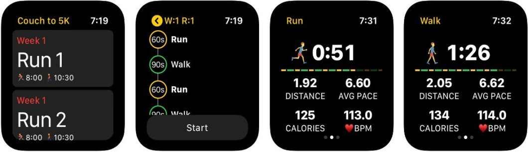 App de deporte para Apple Watch