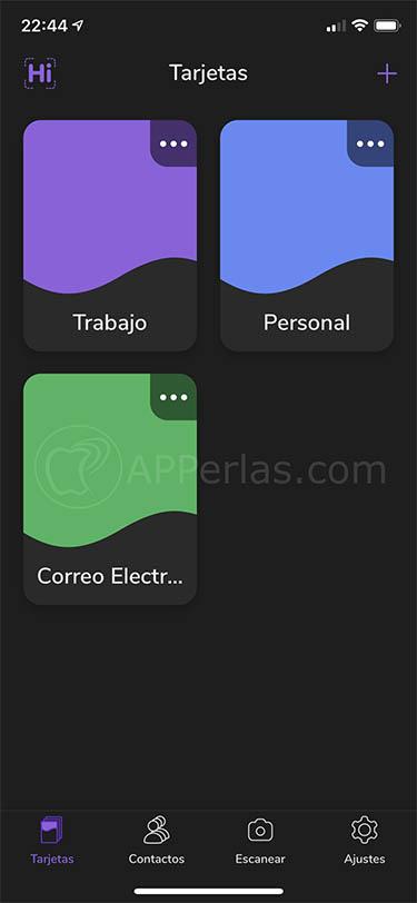 app para crear tarjetas de visita hihello 3