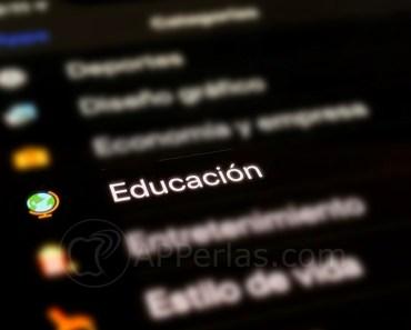 Aplicaciones de educación más descargadas en iPhone y iPad