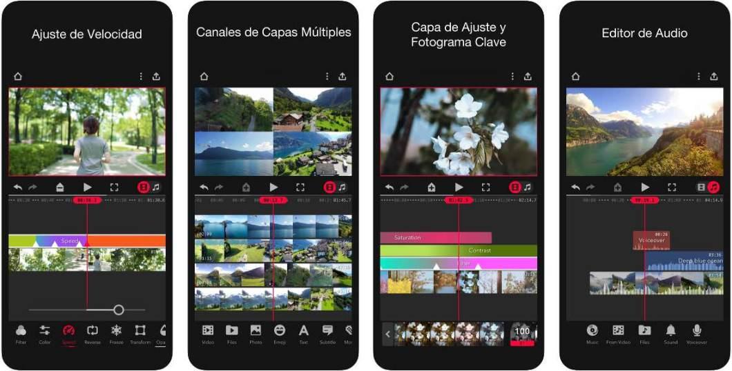 App de edición de vídeo
