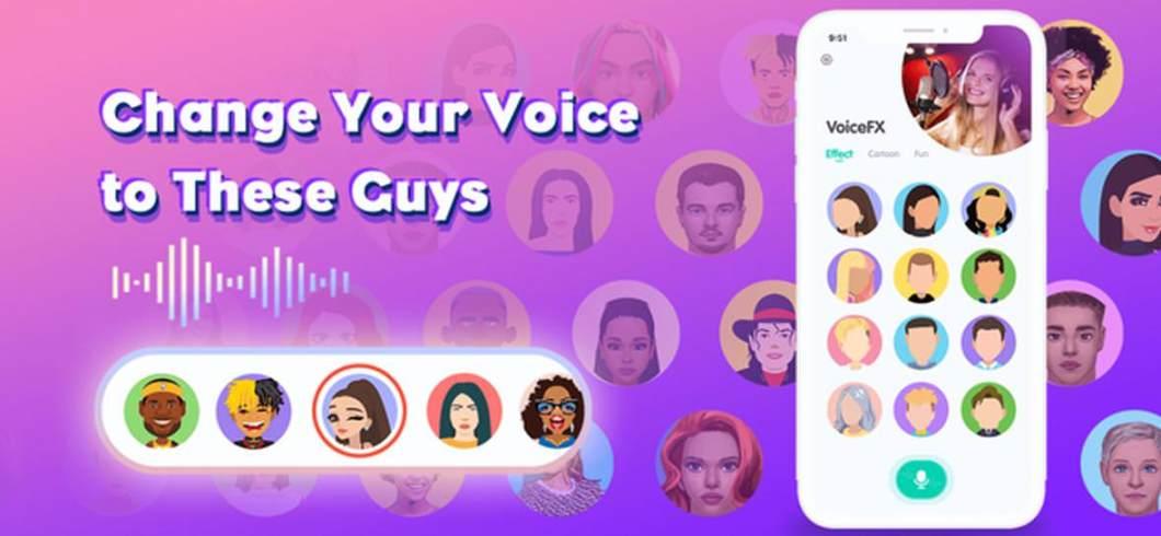 App para cambiar voces