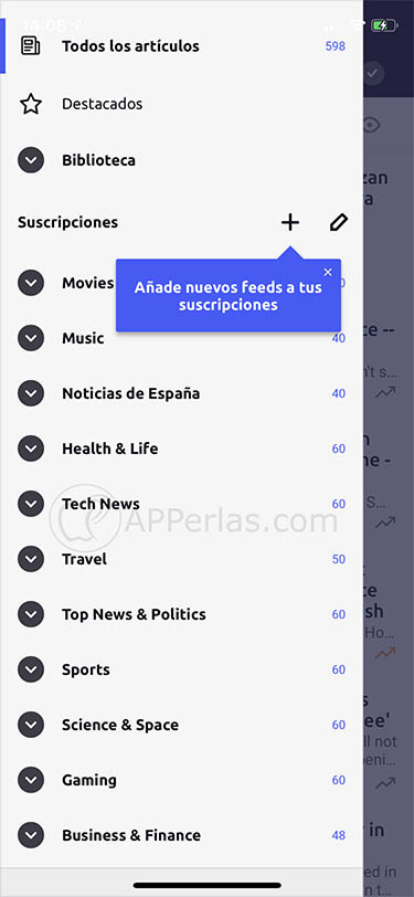 lector de noticias para iphone inoreader 4