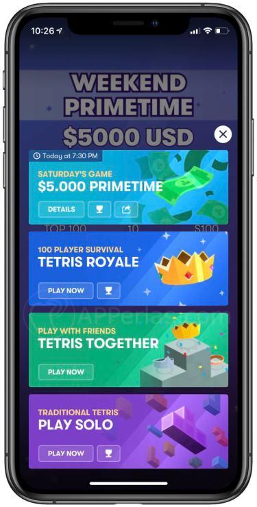 Nuevos modos de juego de Tetris