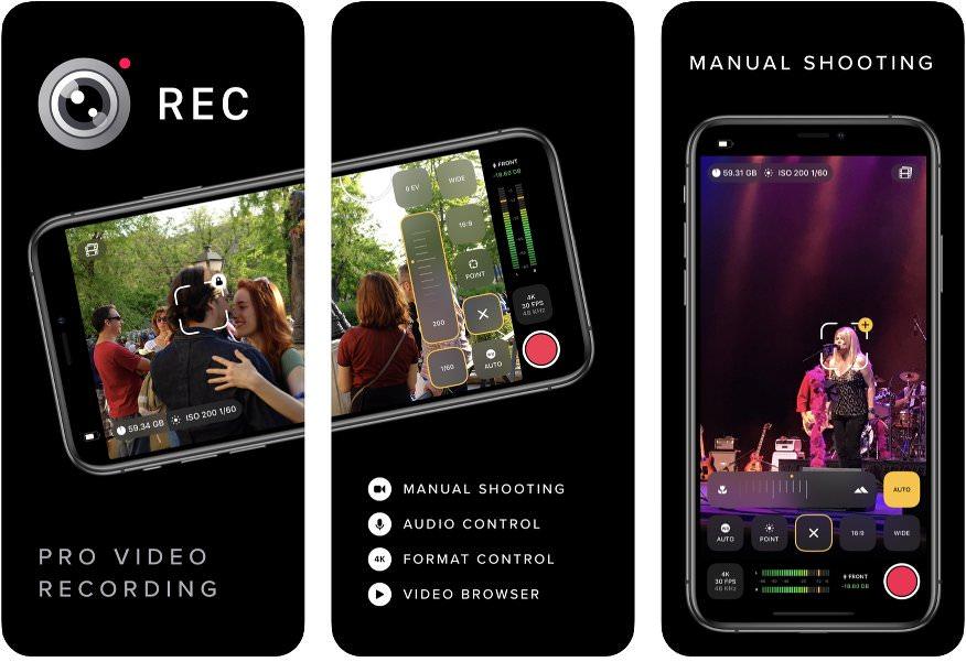 App para grabar vídeos