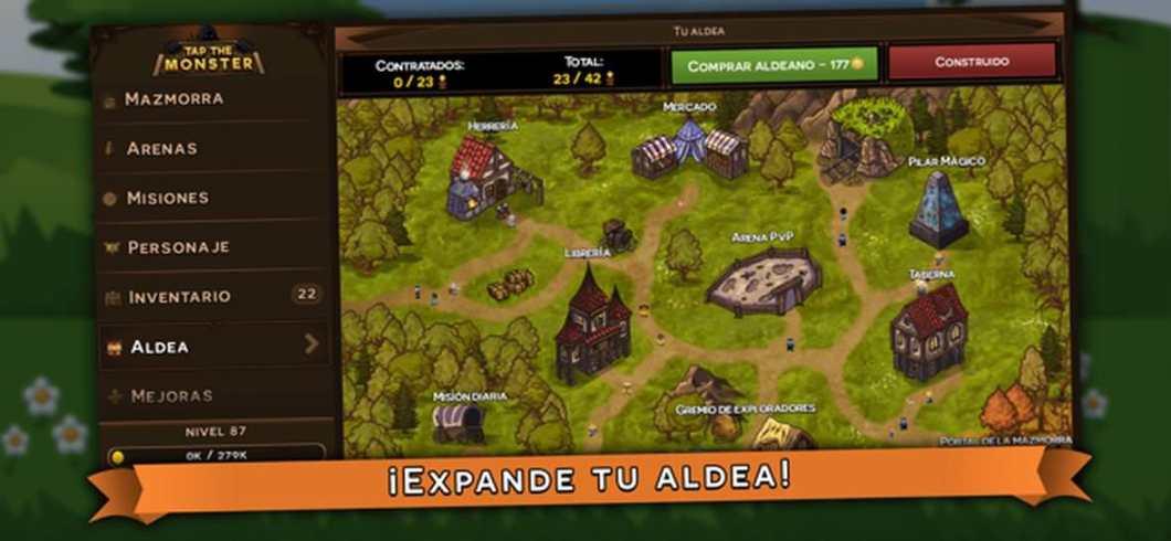 Juego RPG para iOS