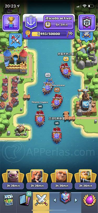 nuevas guerras de clanes clash royale 3