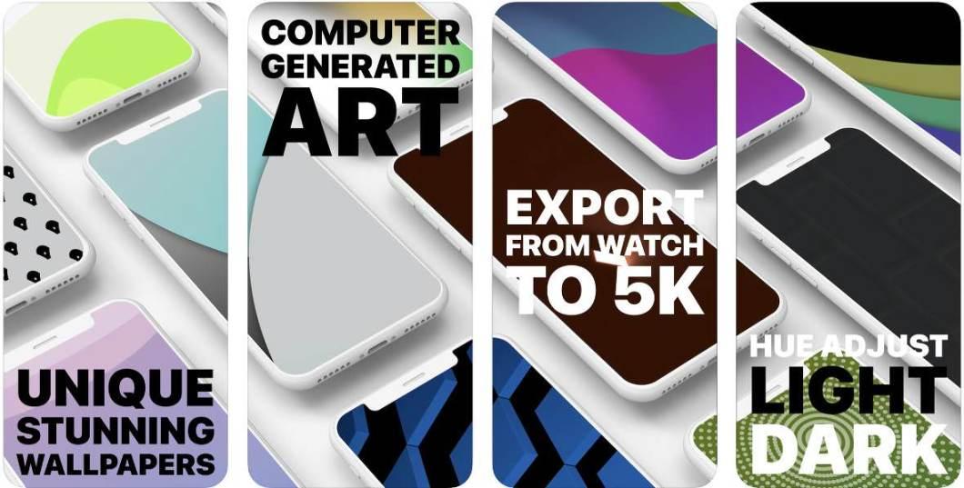App para crear fondos de pantalla para iPhone