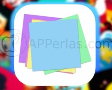 Interesante app de notas para nuestro iPhone y iPad