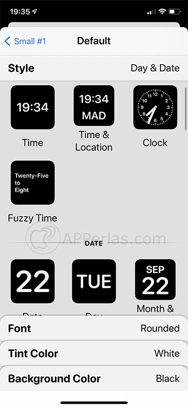 app de widgets widgetsmith ios 14 iphone 4