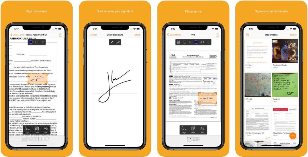 App para firmar documentos desde iPhone y iPad