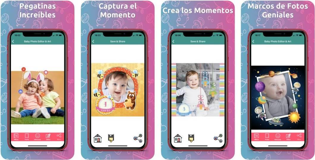 Editor fotográfico para iPhone