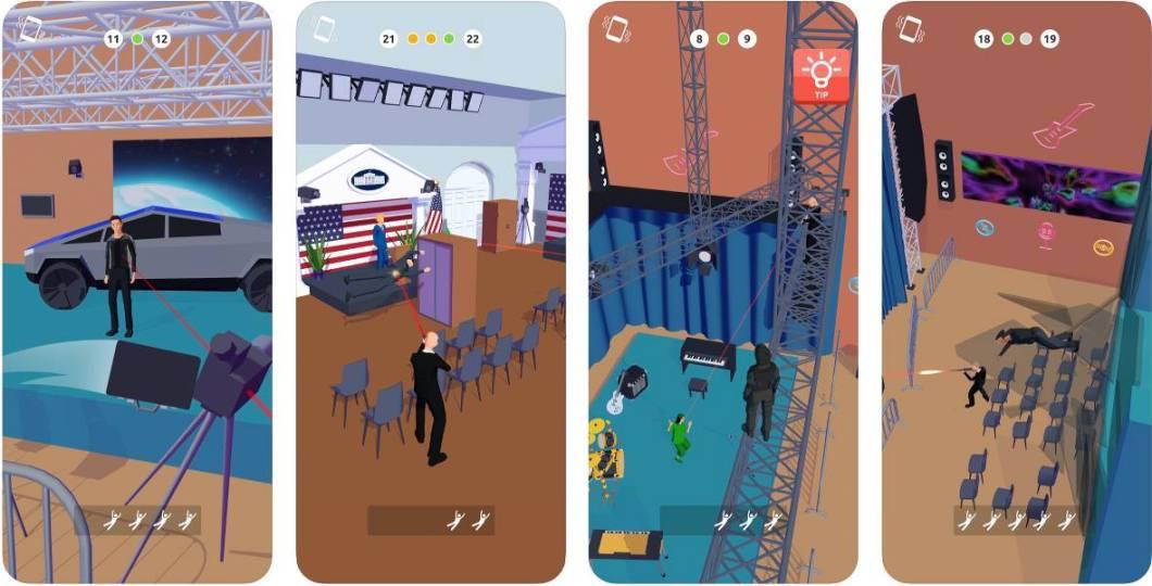 Juego de guardaespaldas para iPhone