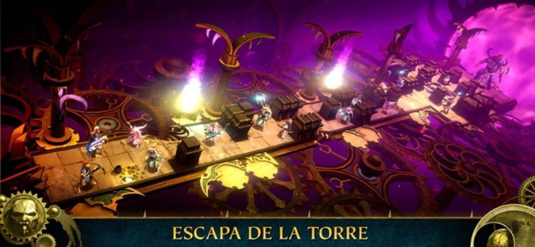 Warhammer Quest: Silver Tower llega a iOS