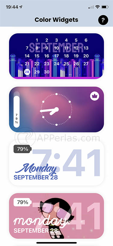 widgets para ios 14 color widgets 3