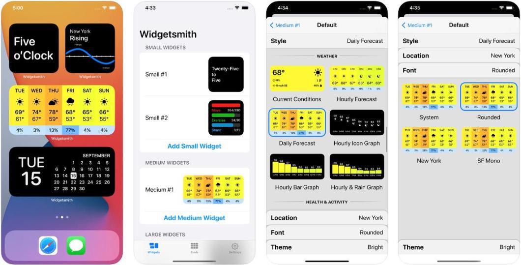 App para añadir Widgets a tu pantalla de inicio