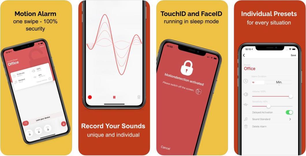 Alarma antirrobo para iPhone