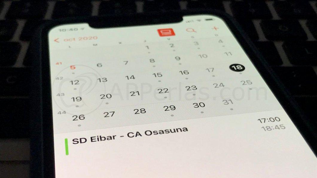 Calendarios de suscripción para iPhone y iPad