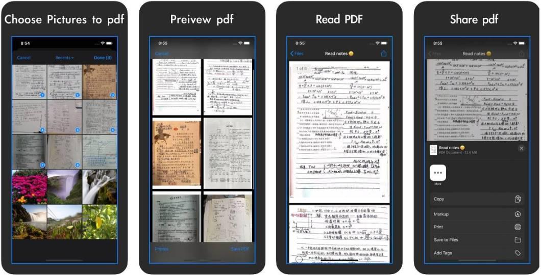 App de gestión de documentos PDF