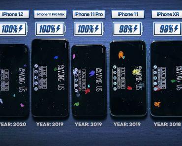 Sorpresa al ver la autonomía de la batería de los iPhone 12 y 12 PRO