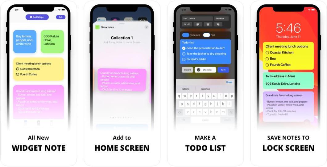 App de notas para iPhone