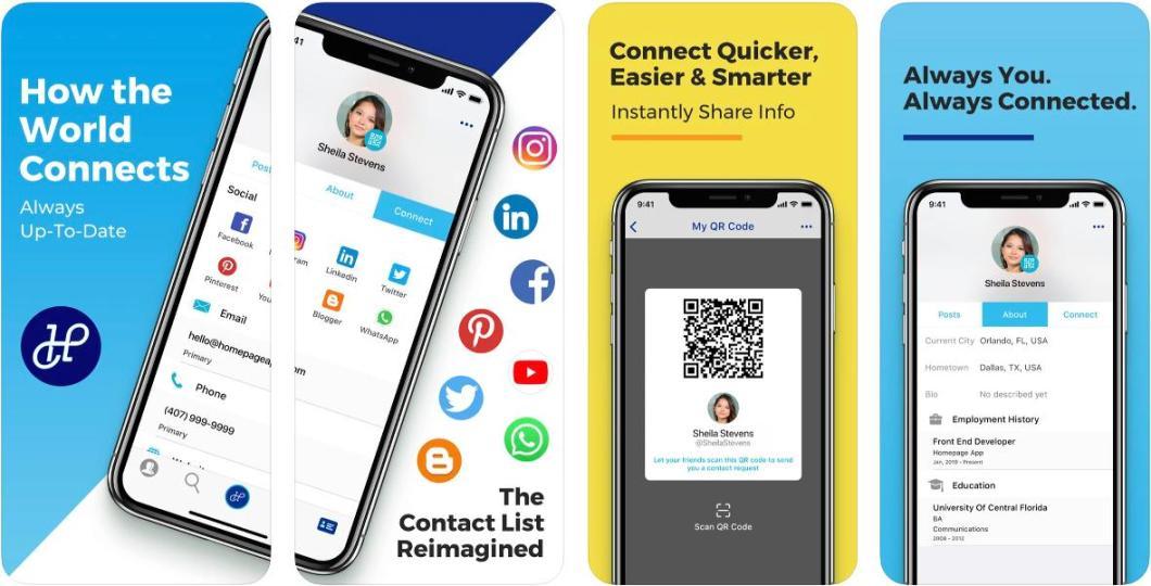 App de gestión de contactos