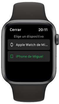 usar Spotify en el Apple Watch 2