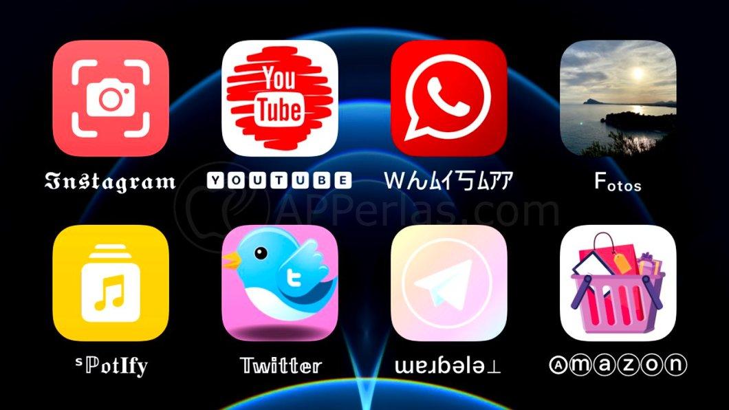 Cambia el tipo de letra de las apps en iOS