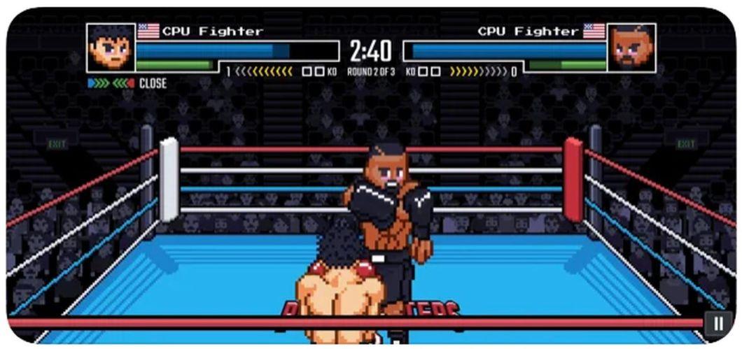 Juego retro de boxeo para iPhone y iPad