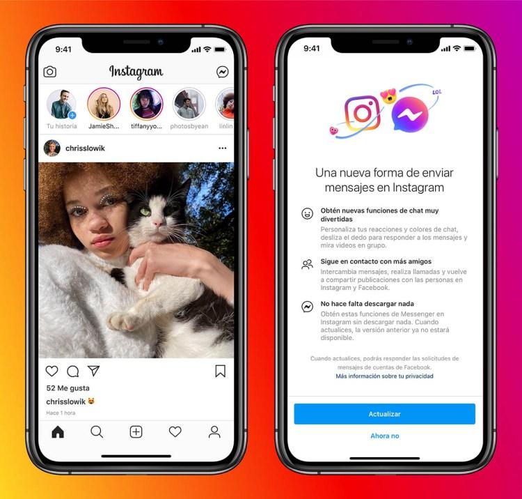 instagram facebook messenges mensajes directos de instagram 1