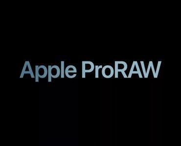 Cómo activar el formato Apple ProRAW en el iPhone
