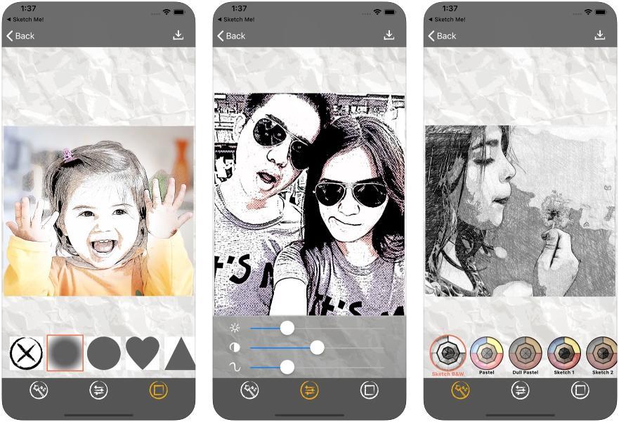 App para convertir fotos en dibujos