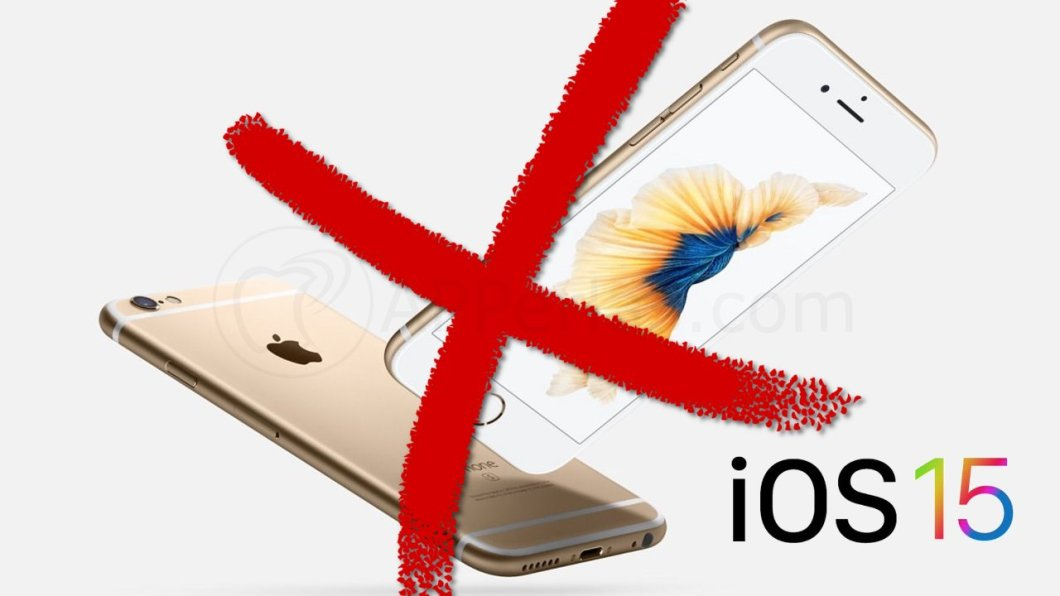 iPhone no compatible con iOS 15