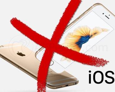 Malas noticias para los usuarios con iPhone 6S, 6S PLUS y SE (1ª Generación)